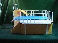 Vtg BARBIE Doll DREAM Swimming Pool All Railings!