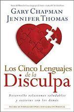 Los Cinco Lenguajes de la Disculpa: Desarrolle Relaciones Saludables Y-ExLibrary
