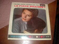 """FERRANTE AND TEICHER - DIAHANN CARROLL """" LE PIACE BRAHMS? """" E.P. ITALY'61 O.S.T."""