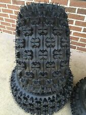 TWO 20x11-9 NEW ATV TIRES (PAIR) SUZUKI LTZ250 LTZ400 REPLACES 20x10-9 4 PLY