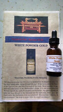 WHITE POWDER GOLD (LIQUID 1 OZ.)