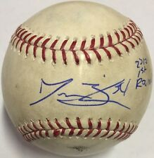 JESSE BIDDLE SIGNED RAWLINGS OMLB BASEBALL ATLANTA BRAVES 2010 1ST ROUNDER