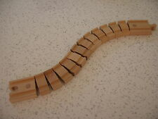 LONG BENDY CRAZY TRACK for WOODEN TRAIN SET ( Brio Thomas ) ~ NEW