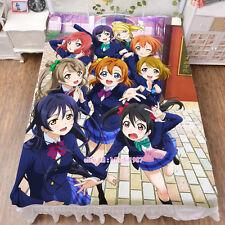 Love Live All Stars Anime Girl Bed Sheet Summer Quilt Blanket 02