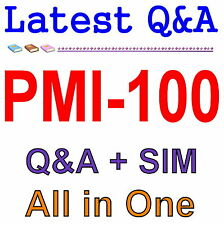 PMI Certified Associate in Project Management CAPM PMI-100 Exam Q&A PDF+SIM