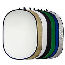 Réflecteur Diffuseur Lumière Pliable 7en1 100x150 Portable x Studio Photo Vidéo