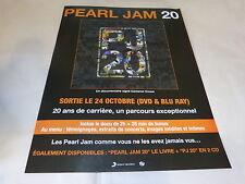 PEARL JAM - Publicité de magazine / Advert 20 !!!