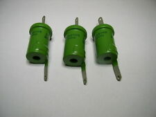 Doorknob Capacitor K15Y-2 220pf 2kV.  NOS. Lot of 3pcs.