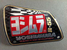 NEW GENUINE YOSHIMURA MUFFLER BADGE R-55