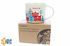 """Starbucks You Are Here Collection WHISTLER CANADA Mug Cup """"NEW"""""""