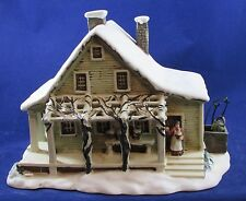 VINTAGE CHRISTMAS Currier and Ives Museum City of New York OLD FARM HOUSE