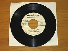 "PROMO COUNTRY 45 RPM - KAY TOLLIVER KEMMER - MUSICOR 1347  ""FOOTSTEPS OF A FOOL"""