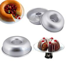 "New 8.2"" DIY Decorating Fondant Aluminum Cake Tin 3D Jello Donut Pan Mould Mold"