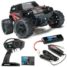 Traxxas 76054-1 LaTrax Teton 1/18 Monster Truck 4WD RTR Red w/ 2.4GHz Radio