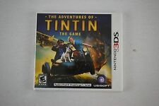 Nintendo 3DS Video Game: The Adventures of TinTin the Game (Tin Tin) NEW!