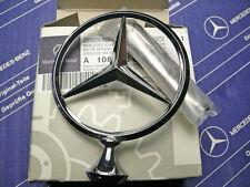 Original Mercedes Stern Emblem W108 W109 Reparatursatz mit Stern und Feder NOS!