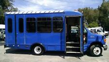 2006 E350 FORD SHUTTLE BUS with WHEELCHAIR LIFT