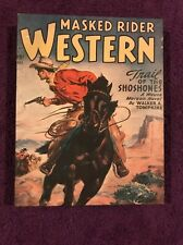 """Masked Rider Western """"Trail of the Shoshones"""" Wood Wall Art 11"""" X 14"""" X 1.5"""""""