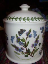 PORTMEIRION BOTANIC GARDEN SPEEDWELL LARGE DOME-LIDDED JAR UNUSED RARE BUY NOW!!