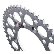 NEW RENTHAL ULTRALIGHT REAR SPROCKET 49T SILVER YZ YZF WRF 125 250 400 426 450