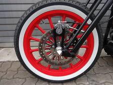 PM Bremse Springergabel Harley Old School Bobber Bremssattel Springer Halter