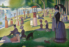 QUALITY CANVAS ART PRINT * GEORGES SEURAT * A Sunday Afternoon...