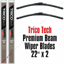 "Set Of 2 22 Inch Wiper Blades - Trico Tech 19-220 22"" Beam Blade Wipers 19-220x2"