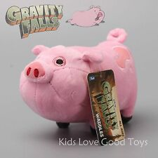 Gravity Falls Waddles the Pink Pig Plush Toy Soft Stuffed Animal Doll Xmas Gift