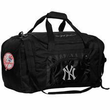 New York Yankees Roadblock Duffle Bag - Black - MLB