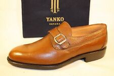 Men's New YANKO Genuine Leather HAND-CRAFTED EUROPEAN Dress Shoes 11 M  $350