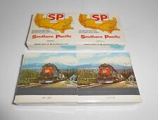Southern Pacific Matches Matchbook NOS Lot Of Two Factory Sealed Railroad