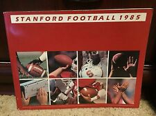 1985 STANFORD COLLEGE FOOTBALL MEDIA GUIDE - B3