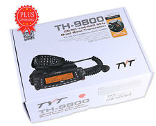 TYT TH-9800 Plus 50W Quad Band Dual Display Repeater Car Mobile Ham Radio + mic
