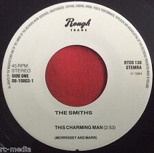 THE SMITHS -This Charming Man- Rare Dutch 1 sided White label Promo (Record)