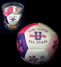 Girl's Special Day Soccer Ball 'Girl Power University All Stars'  ~ Keepsake NEW