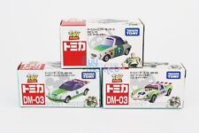 Tomica Takara Tomy Disney Motors Buzz Lightyear Diecast Toy Story Car 3X SET