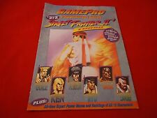 Street Fighter 2 II Super Nintendo SNES Strategy Guide Player's Hint Book