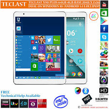 TECLAST X98 PLUS 64GB INTEL Z8300 DUAL OS WINDOWS 10 ANDROID 5.1 TABLET PC