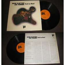 BUCK CLAYTON & JOE TURNER - Feel So Fine! LP Freedom Jazz Blues 1973