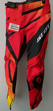 "New Kids Youth Red Scott Motocross Pants Sz 22"" Age 3-4 Trousers Honda Mx CR SX"