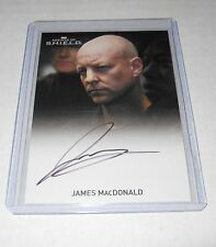 Agents of Shield Season 1 James MacDonald Autograph Trading Card LIMITED (Black)