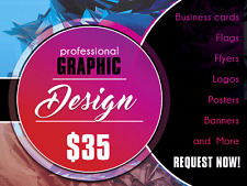 Graphic Design Services; Posters, Buisness Cards, and More