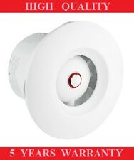 "BATHROOM  EXTRACTOR FAN WHITE LOW VOLTAGE 12V AC WALL/CEILING 100/4"" SHOWER AREA"