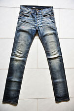 Dior Homme Blue Denim Jeans Pants Skinny Under My Car UMC 08 Rare New 30 31 32