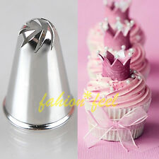 Drop Flower Icing Nozzle Cake Cupcake Decorating Tip Cream Cookie Piping Tools