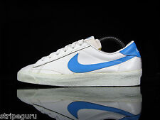 vintage NIKE RACQUET leather tennis shoes size UK 4.5 US 7 OG 80s rare 1980