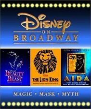 Disney on Broadway : Aida, the Lion King, Beauty and the Beast by Michael...