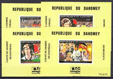 Dahomey - Michel-Nr. Block 50-53 postfrisch/**  (Fußball WM 1974, Deutschland)