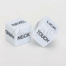 SET 2 ADULT SEX/LOVE DICE GAME PARTY FUN VALENTINE ANNIVERSARY PRESENT GIFT JOKE