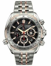 Citizen Signature Mens BZ0016-50E Grand Complication Two Tone Titanium Watch